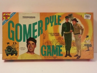 1964 Gomer Pyle board game.