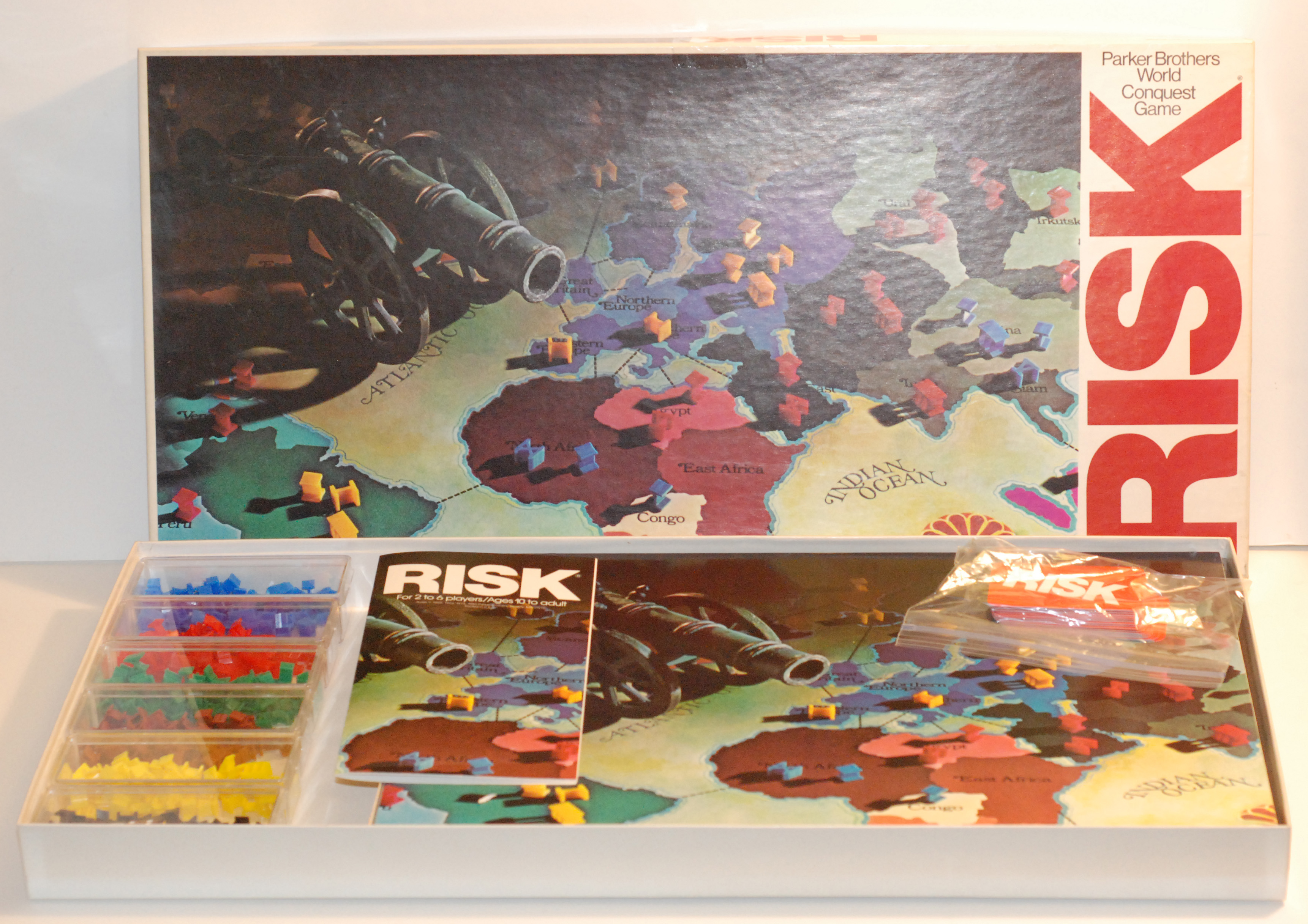 Risk Board Games Increase In Value With Alternate Versions