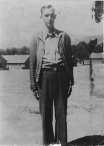 Bennie Lewis, a younger brother of my paternal grandmother. He died at the age of 25 in a logging accident.