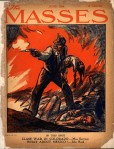 Cover of the June, 1914 issue of The Masses by John French Sloan, depicting the Ludlow Massacre.