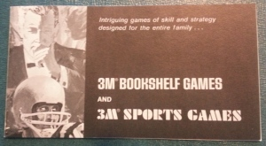 3M Bookshelf Games and 3M Sports Games Booklet (Photo)