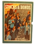 1964 version of the 3M Company's Bookshelf Game Stocks & Bonds.