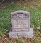 Gravestone of my grandfather's sister. His mother died three weeks earlier due to complication of childbirth.