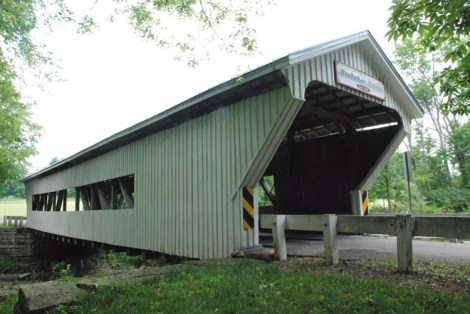 Brubaker Bridge, located just outside of Gratis, Ohio in Preble County.