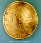 Gold Coin found in H. L. Hunley