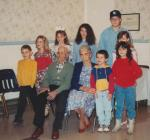 Rob and Malinda (smith) Beaty with their great-grandchildren. (Click to enlarge)